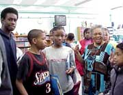 Students and teacher in a Middle Start school